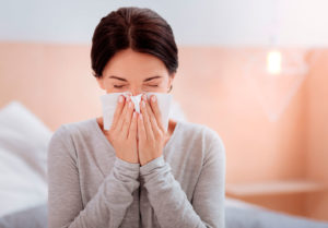 allergia letto